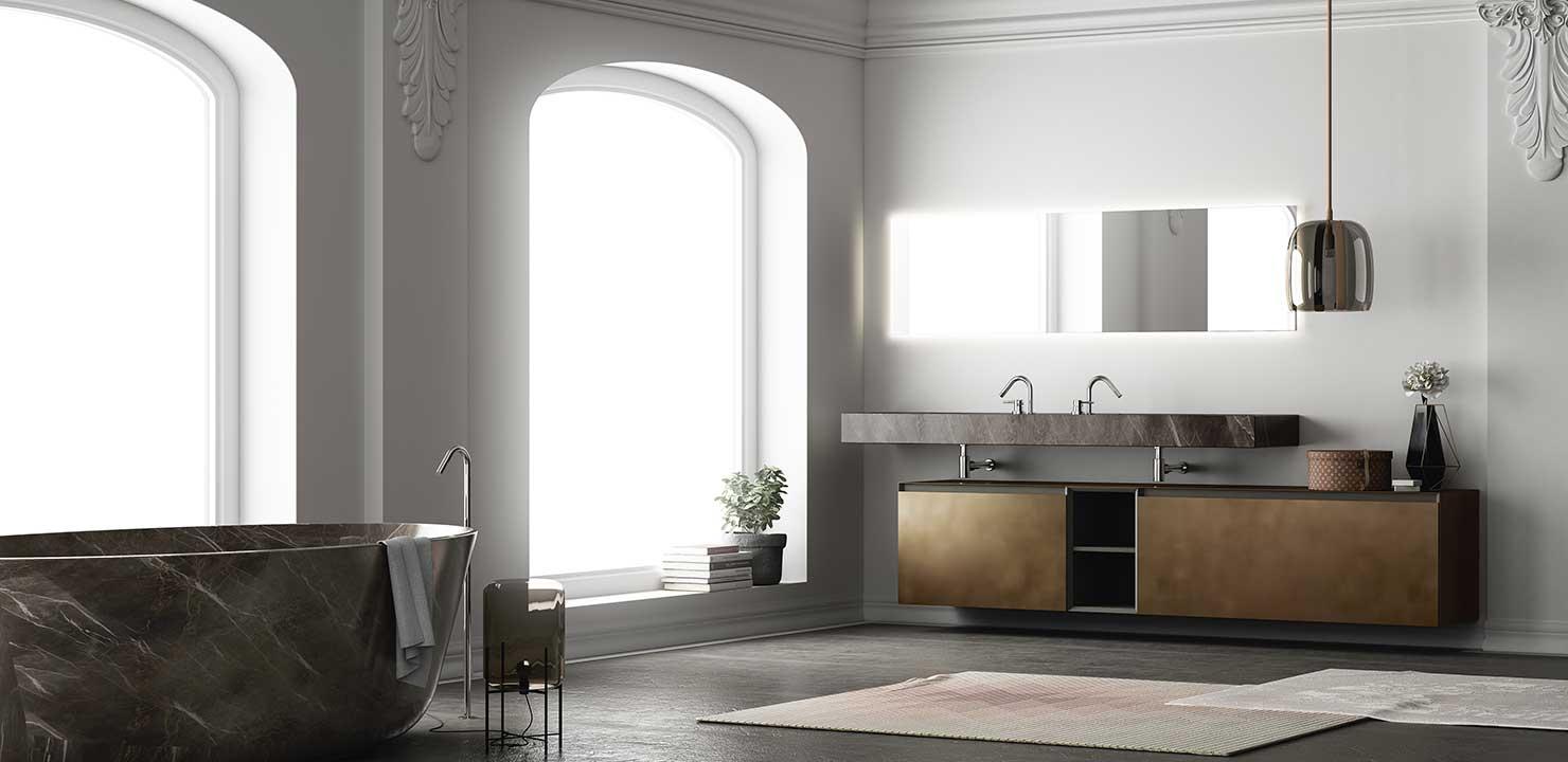 Arredobagno moderno altamarea arredo casa fvg for Arredo minimal home