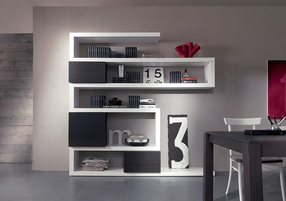 Libreria Moderna Arredamento.Libreria Moderna Side System Arredo Casa Fvg