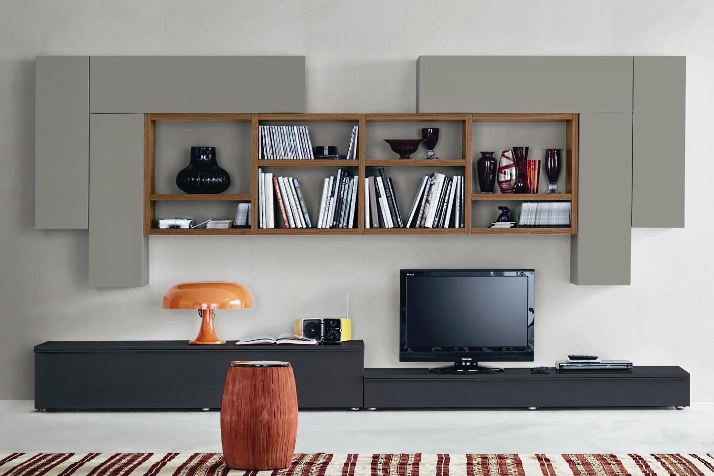 Parete attrezzata 548 arredo casa fvg - Parete attrezzata design ...
