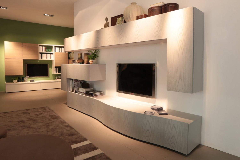 Parete attrezzata modulare 560 1 arredo casa fvg for Pareti salone