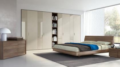 Camere da letto moderna modello pistoia arredo casa fvg for Camere da letto moderne 2016