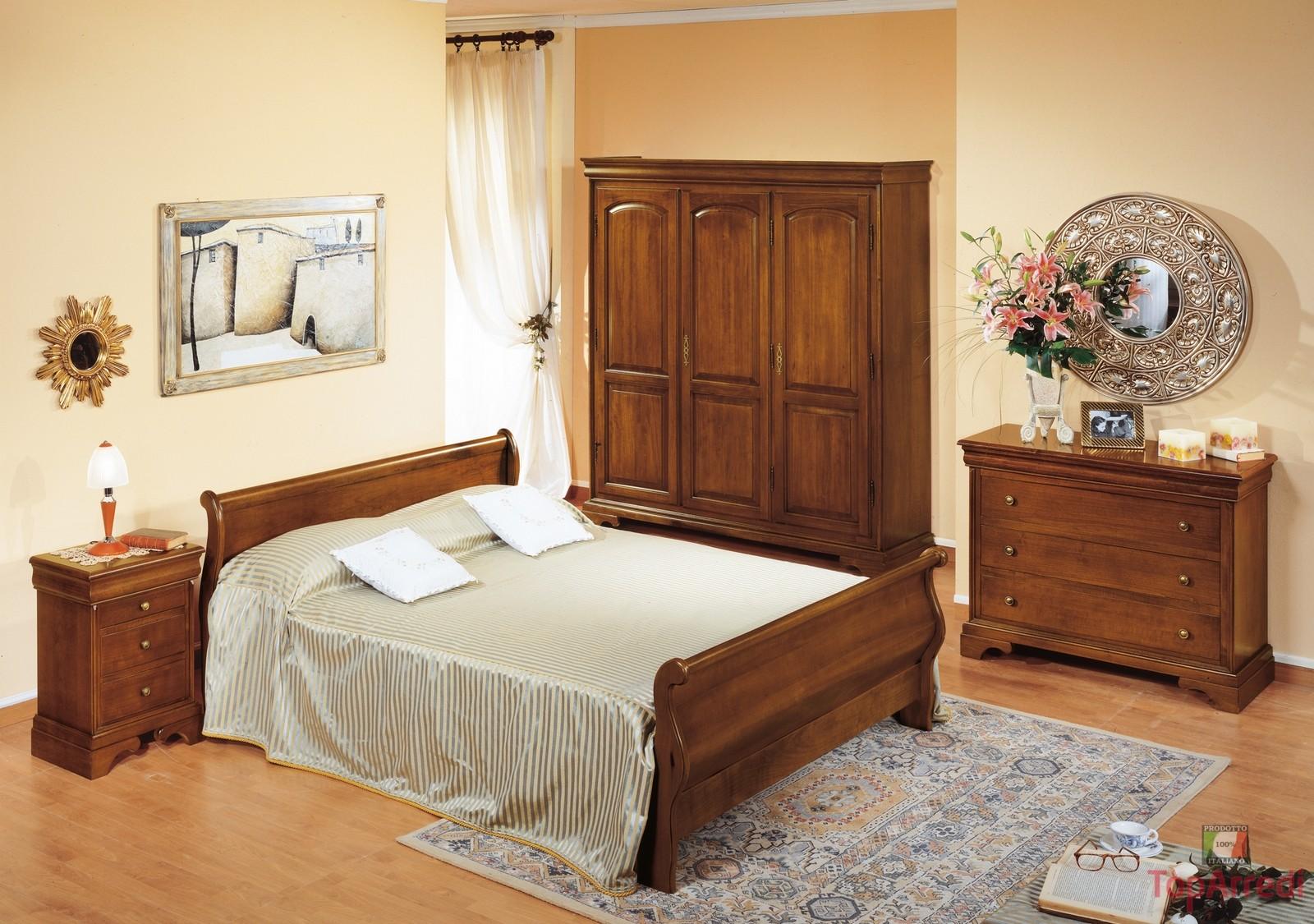 Tende Stanza Da Letto Classica camera da letto classica modello letizia - arredo casa fvg