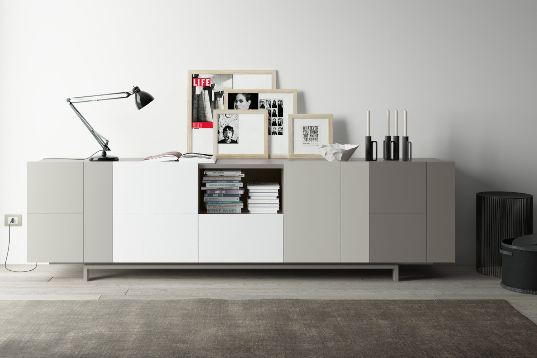 Credenza Moderna In Vetro : Credenza moderna modello 2.13 arredo casa fvg