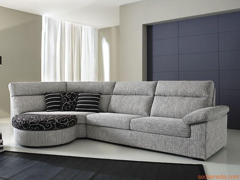 Divano moderno modello rond arredo casa fvg - Altezza seduta divano ...