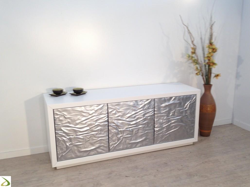 Madia de soggiorno moderna 3 ante modello icel arredo - Laccare ante cucina ...