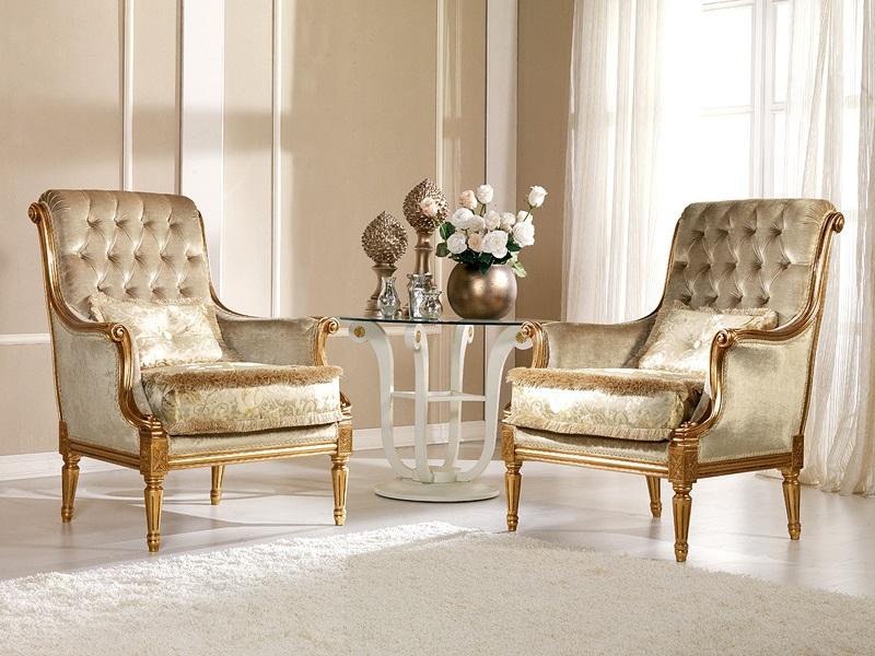 Poltrona classica modello nives arredo casa fvg for Poltrona classica camera da letto
