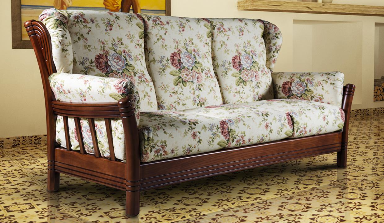 Divano arte povera modello iowa arredo casa fvg - Spalliere letto in legno ...