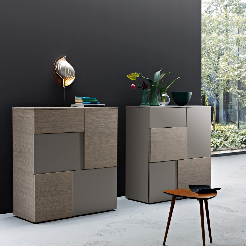 Madia moderna per soggiorno modello georgia arredo casa fvg for Immagini mobili