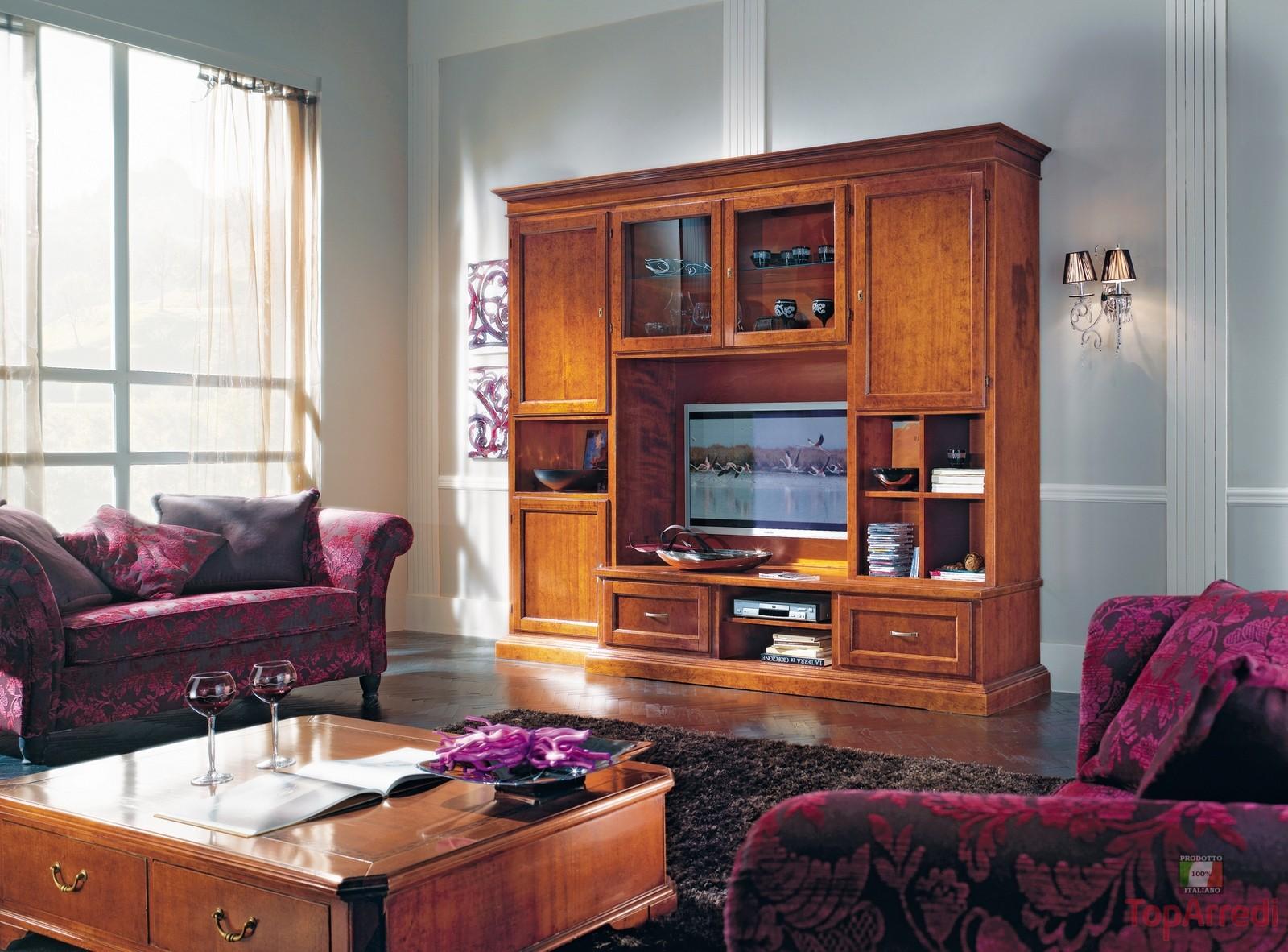 Come Arredare Un Salotto Classico : Soggiorno classico modello air arredo casa fvg
