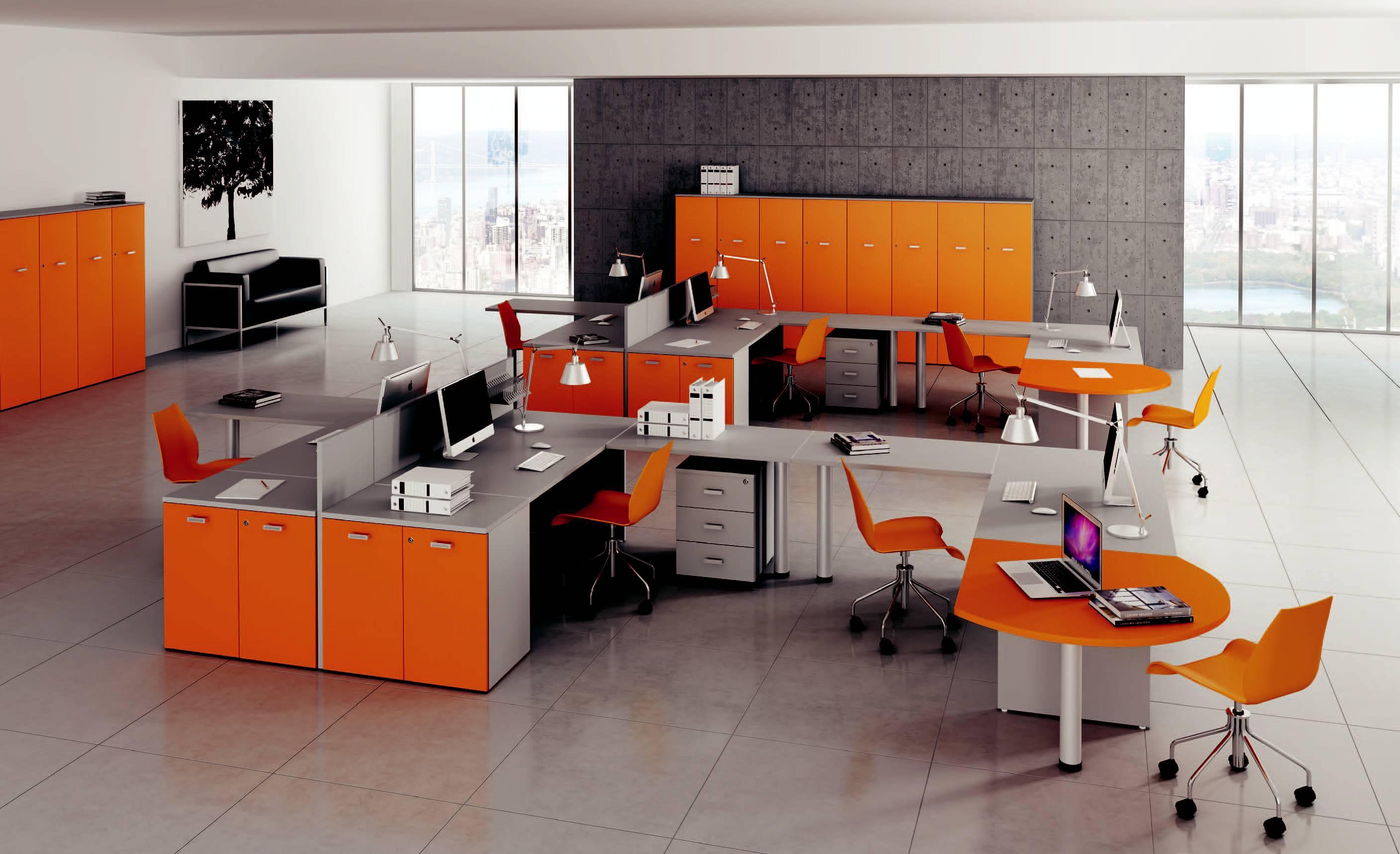 Arredamento Ufficio Operativo : Arredamento uffici operativi modello kamos arredo casa fvg