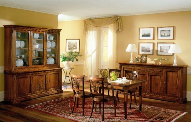 Sala da pranzo modello la fenice arredo casa fvg for Pittura sala da pranzo