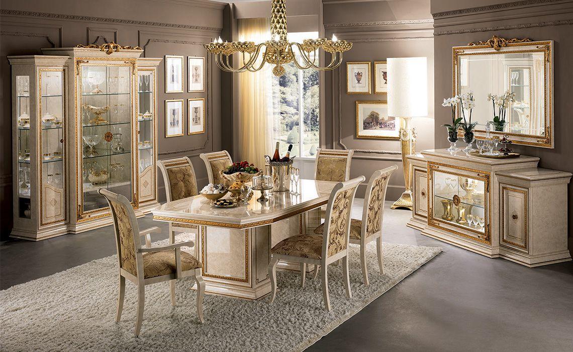 Sala da pranzo modello cleopatra arredo casa fvg for Sala da pranzo versace