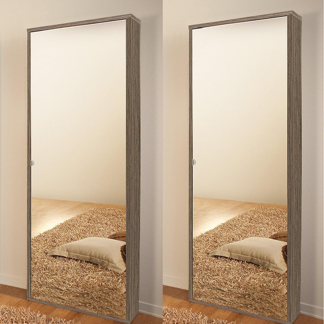 Scarpiera specchio modello nettuno arredo casa fvg - Scarpiera con anta a specchio ikea ...