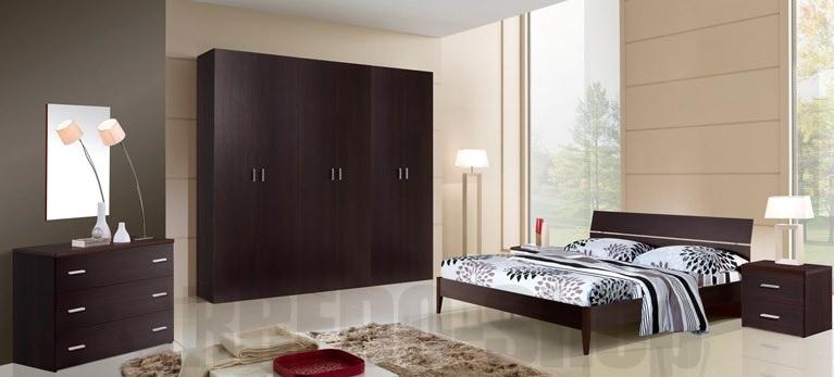 Excellent camera da letto moderna modello ferrante with - Panca camera da letto ikea ...