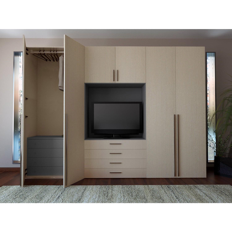 Armadio battente modello tilt arredo casa fvg - Camera da letto con tv ...