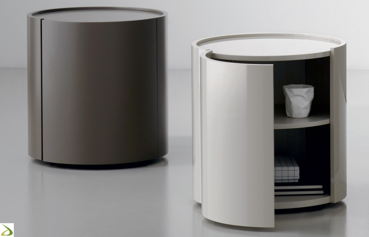 Comodino modello urigi arredo casa fvg for Design moderno casa di legno