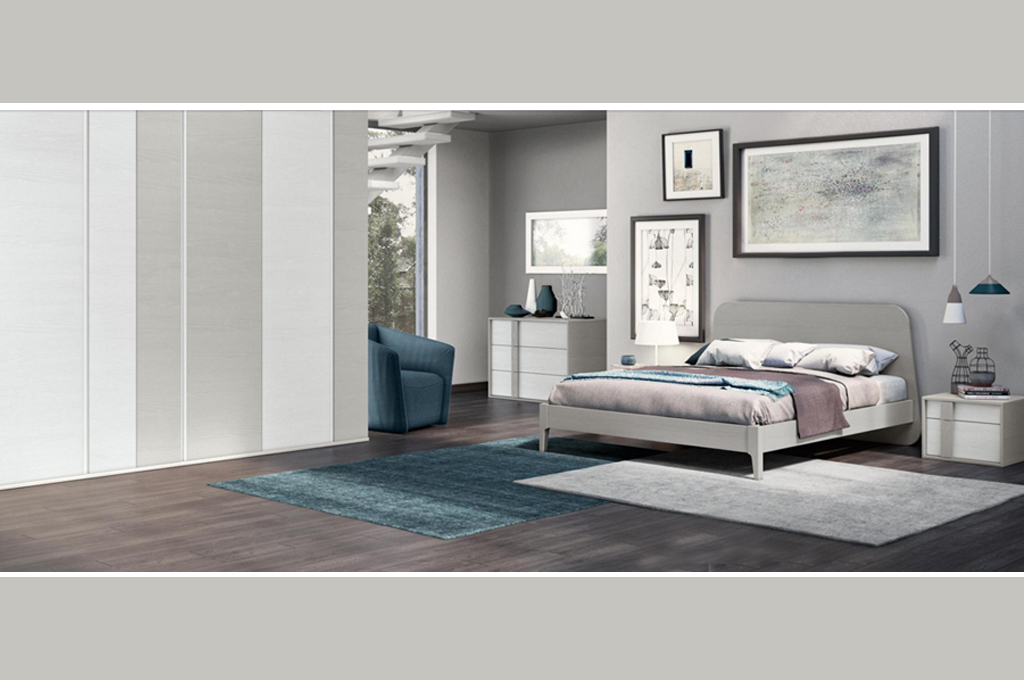 Camere da letto moderne modello golf arredo casa fvg - Camera de letto matrimoniale ...