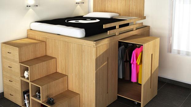 Soppalchi in legno per camere da letto soppalco with - Soppalchi in legno per camere da letto ...