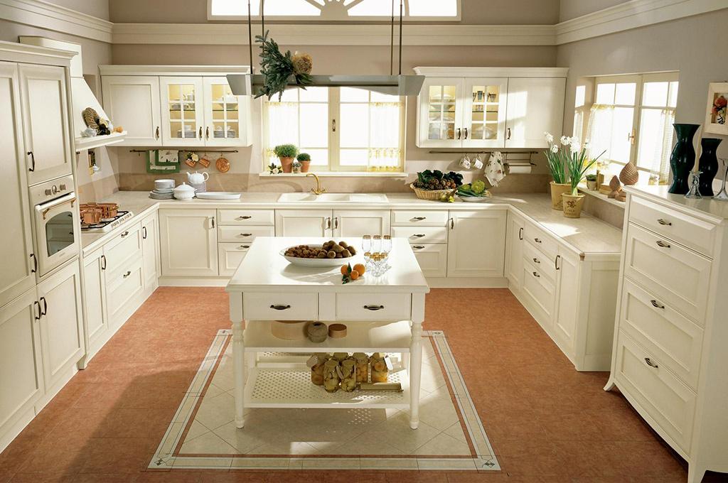 Cucina classica modello velia arredo casa fvg for Cucina classica contemporanea